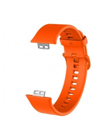Λουράκι σιλικόνης για το Huawei Watch Fit - Orange