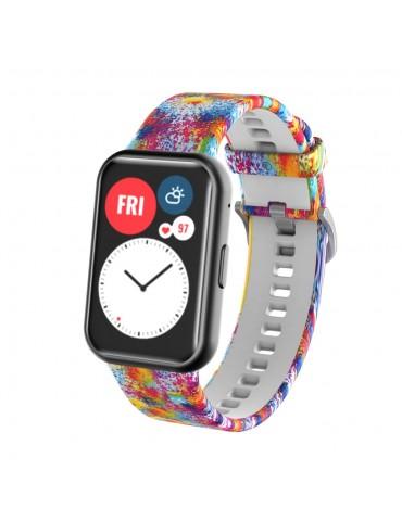 Λουράκι σιλικόνης για το Huawei Watch Fit - Multiple Colors