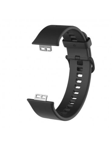 Λουράκι σιλικόνης για το Huawei Watch Fit - Black