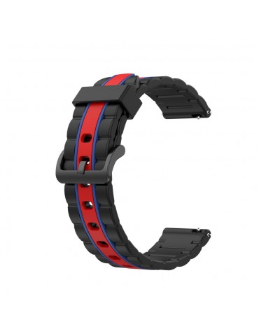 Λουράκι σιλικόνης wave για το Huawei Watch GT/GT 2 (46mm)/ GT 2e /GT Active/Honor Magic/Watch 2 Classic-  Black/Red/Blue