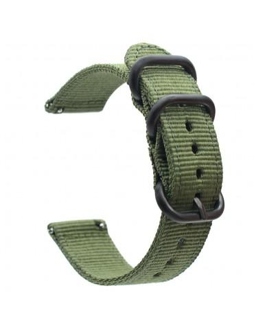 Υφασμάτινο λουράκι για το Huawei Watch GT/GT 2 (46mm)/ GT 2e /GT Active/Honor Magic/Watch 2 Classic -Army Green