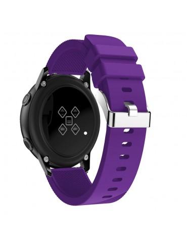 Twill Texture Λουράκι σιλικόνης για το Amazfit GTR 42mm - Purple