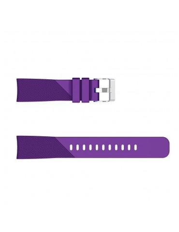 Twill Texture Λουράκι σιλικόνης για το Amazfit GTS - Purple