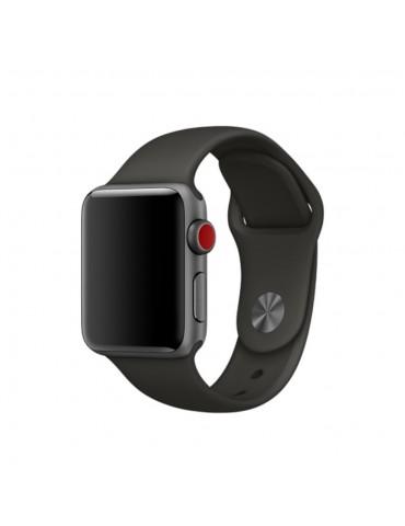 Λουράκι Σιλικόνης Mαύρο (Apple Watch 42/44mm) OEM