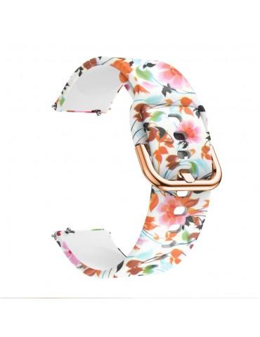 Λουράκι Σιλικόνης για το Huawei Watch GT/GT 2 (46mm)/ GT 2e /GT Active/Honor Magic/Watch 2 Classic-Beautiful Flowers