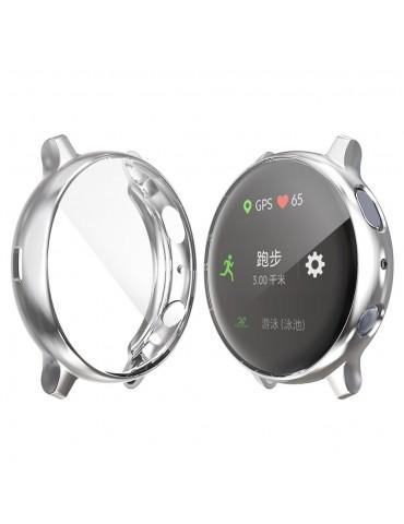 Προστατευτική θήκη σιλικόνης Samsung Galaxy Watch Active 2 44mm - Silver