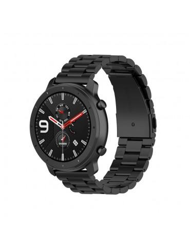 Μεταλλικό Λουράκι Stainless για Samsung Galaxy Watch 42mm - Black (45599) - OEM