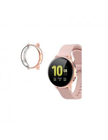 Προστατευτική θήκη σιλικόνης Samsung Galaxy Watch Active 2 44mm - Pink
