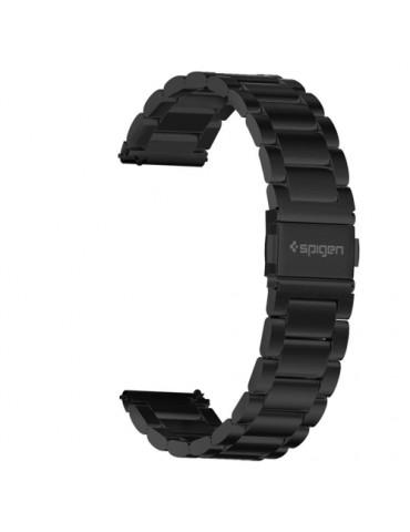 Spigen Modern Fit Λουράκι Stainless Steel για το Huawei Watch GT/GT 2 (46mm)/ GT 2e /GT Active/Honor Magic/Watch 2 Classic -Black