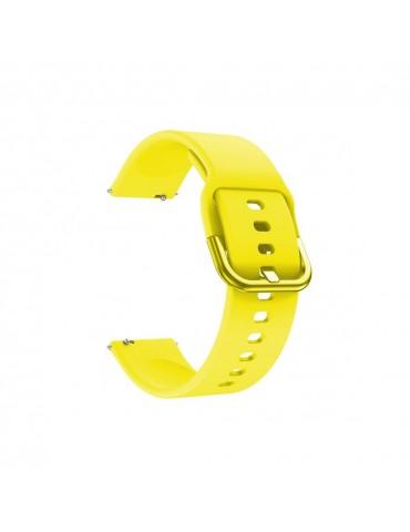 Λουράκι σιλικόνης για το Garmin Vivomove HR/ Vivomove OEM - Κίτρινο