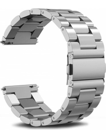 TECH PROTECT Stainless Steel Watch Strap για AMAZFIT GTR 47mm silver