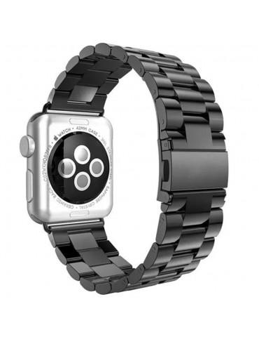 Senso Λουράκι QuickFit Stainless Black (Apple Watch 42/44mm)