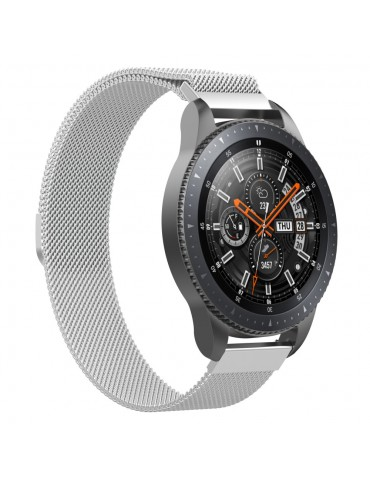 Tech-Protect Milanese Loop Silver - Samsung Gear S3/Galaxy Watch 46mm
