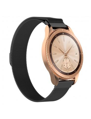 Milanese Μεταλλικό Μαύρο για Galaxy Watch 42mm OEM