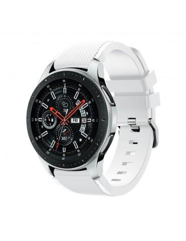 Λουράκι Tech-Protect για Samsung Galaxy Watch 46mm/GEAR S3 CLASSIC / FRONTIER / Watch 3 (45mm) Λευκό