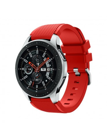 Tech-Protect Smoothband για Samsung Galaxy Watch 46mm/GEAR S3 CLASSIC / FRONTIER / Watch 3 (45mm) Red