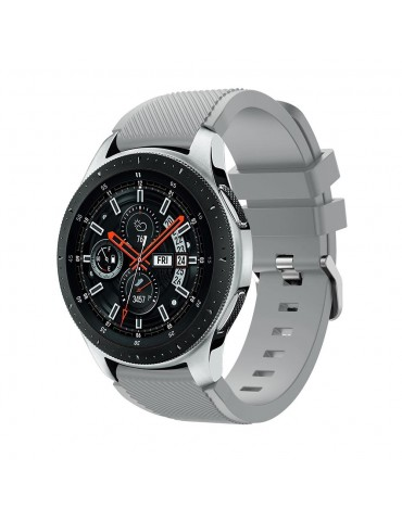 Tech-Protect Smoothband για Samsung Galaxy Watch 46mm/GEAR S3 CLASSIC / FRONTIER / Watch 3 (45mm) Grey