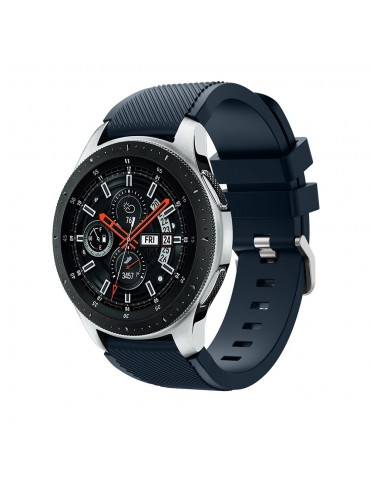 Tech-Protect Sport Smooth Band Midnight Blue Samsung Galaxy Watch 46mm/GEAR S3 CLASSIC / FRONTIER / Watch 3 (45mm)