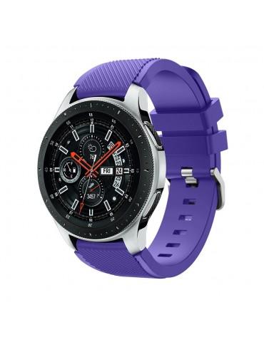 Tech-Protect Smoothband για Samsung Galaxy Watch 46mm/GEAR S3 CLASSIC / FRONTIER / Watch 3 (45mm) purple