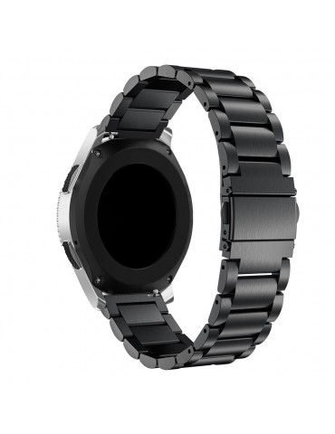 Stainless Steel strap Band Black για Amazfit GTR 47mm OEM