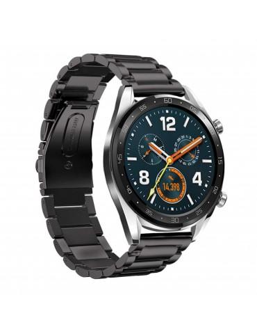 Tech-Protect Μεταλλικό Μαύρο Huawei GT/GT 2 (46mm)/ GT 2e /GT Active/Honor Magic/Watch 2 Classic
