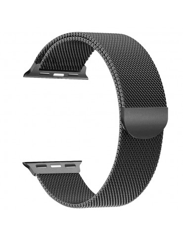Tech-Protect Milanese Apple Watch Band Black 44mm/42mm
