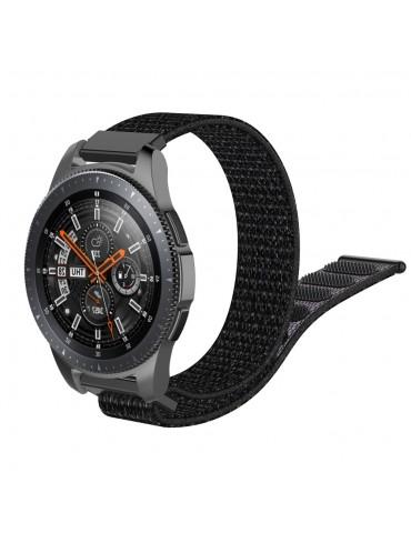 Λουράκι Nylon Velcro Samsung Galaxy Watch 46mm/GEAR S3 CLASSIC / FRONTIER / MOTO 360 2nd GEN OEM - Black