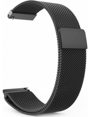 Stainless Steel Milanese λουράκι με μαγνητικό κλείσιμο για το Amazfit GTS - Black OEM
