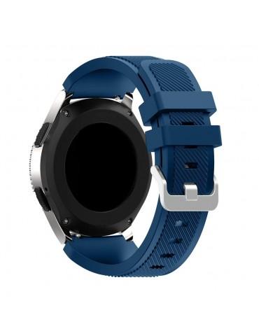 Λουράκι σιλικόνης Twill Texture για το Amazfit Stratos 2/ 2s Midnight Blue OEM