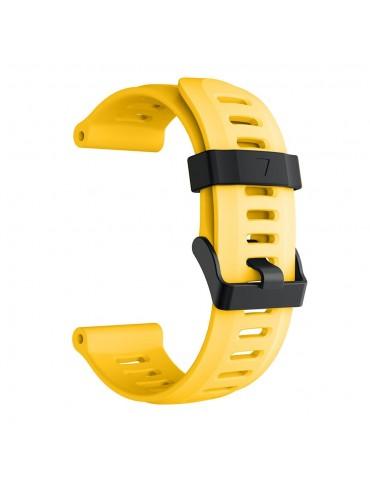 Ανταλλακτικό λουράκι σιλικόνης κίτρινο για Garmin Fenix 3/5x/3HR/5X Plus OEM