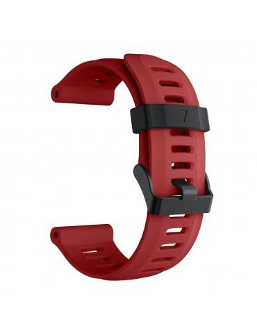 Ανταλλακτικό λουράκι σιλικόνης κόκκινο για Garmin Fenix 3/5x/3HR/5X Plus OEM