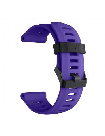 Ανταλλακτικό λουράκι σιλικόνης μοβ για Garmin Fenix 3/5x/3HR/5X Plus OEM