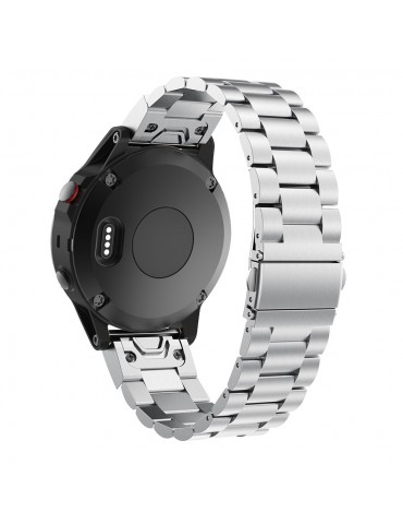 QuickFit Tech-Protect Μεταλλικό Silver Huawei GT/GT 2 (46mm)/ GT 2e /GT Active/Honor Magic/Watch 2 Classic