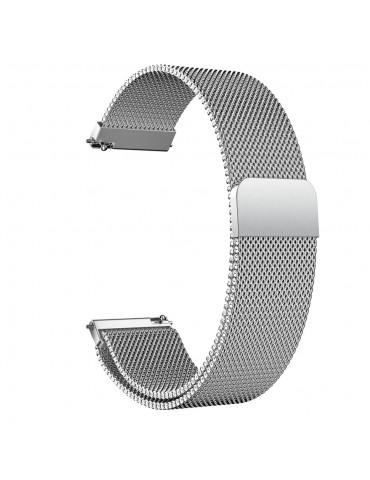 Stainless Steel Milanese λουράκι με μαγνητικό κλείσιμο για το Amazfit GTS- Silver OEM