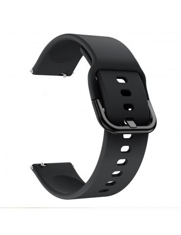 Λουράκι σιλικόνης για το Huawei Watch GT/GT 2 (46mm)/ GT 2e /GT Active/Honor Magic/Watch 2 Classic - Black