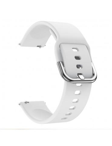 Λουράκι σιλικόνης για το Huawei Watch GT/GT 2 (46mm)/ GT 2e /GT Active/Honor Magic/Watch 2 Classic - White