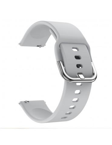 Λουράκι σιλικόνης για το Huawei Watch GT/GT 2 (46mm)/ GT 2e /GT Active/Honor Magic/Watch 2 Classic - Grey