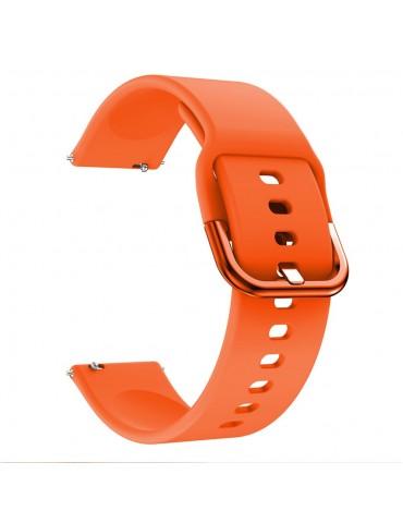 Λουράκι σιλικόνης για το Huawei Watch GT/GT 2 (46mm)/ GT 2e /GT Active/Honor Magic/Watch 2 Classic - Orange