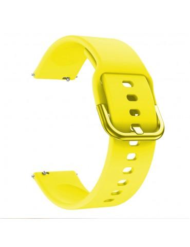 Λουράκι σιλικόνης για το Huawei Watch GT/GT 2 (46mm)/ GT 2e /GT Active/Honor Magic/Watch 2 Classic -Yellow