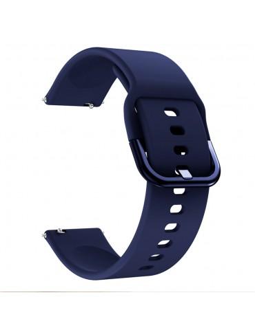 Λουράκι σιλικόνης για το Huawei Watch GT/GT 2 (46mm)/ GT 2e /GT Active/Honor Magic/Watch 2 Classic - Dark  Blue