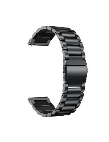 OEM Λουράκι Stainless Steel Black για το Amazfit GTS