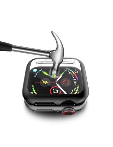 Θήκη προστασίας με ενσωματωμένη προστασία οθόνης για το Apple Watch 44mm - Black