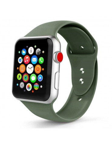 TECH-PROTECT Smoothband Λουράκι Σιλικόνης για Apple Watch 42mm/44mm-Army Green