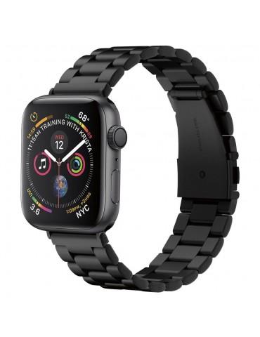Spigen Modern Fit Λουράκι Stainless Steel για Apple Watch 44 / 42mm - Μαύρο