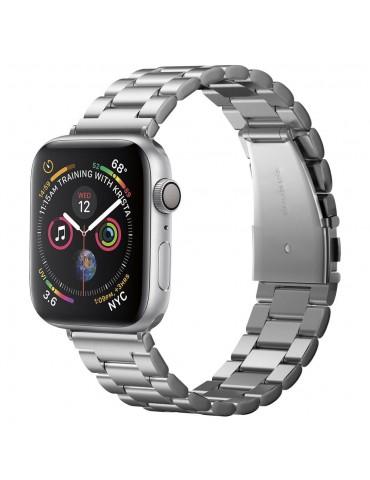 Spigen Modern Fit Λουράκι Stainless Steel για Apple Watch 44 / 42mm - Ασημί
