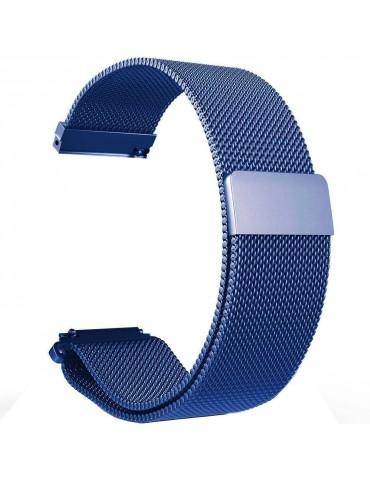 Milanese  μεταλλικό λουράκι με μαγνητικό κλείσιμο Για Το Amazfit GTS -Blue