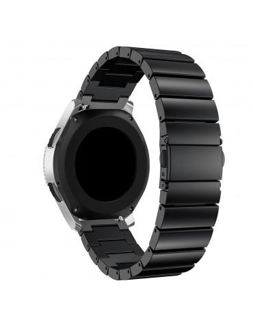 Λουράκι stainless steel bracelet με butterfly buckle για το Amazfit GTS- Black