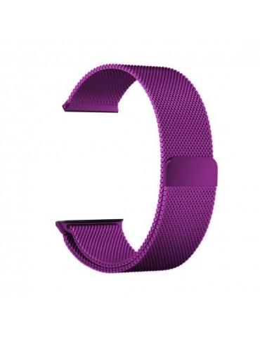 Milanese  μεταλλικό λουράκι με μαγνητικό κλείσιμο Για Το Amazfit GTS -Purple