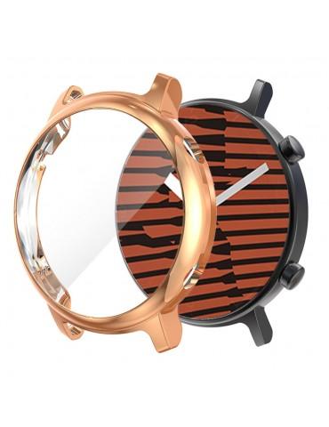 Θήκη προστασίας με ενσωματωμένη προστασία οθόνης για το Huawei Watch GT 2 42mm - Rose Gold