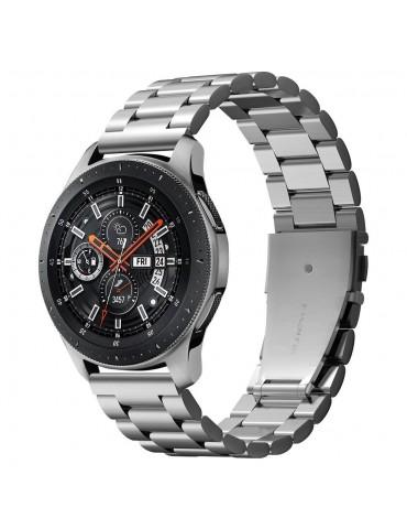 Spigen Modern Fit Λουράκι Stainless Steel Samsung Galaxy Watch 46mm / Gear S3 - Silver